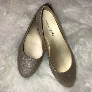 American Eagle Sparkly Flats